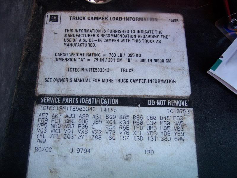 RPO Codes | Truck Forum - Truck Mod Central